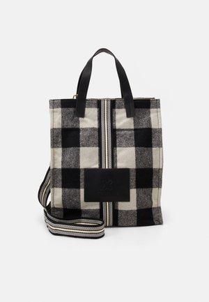 SHOPPER HIGH - Shopping bag - black
