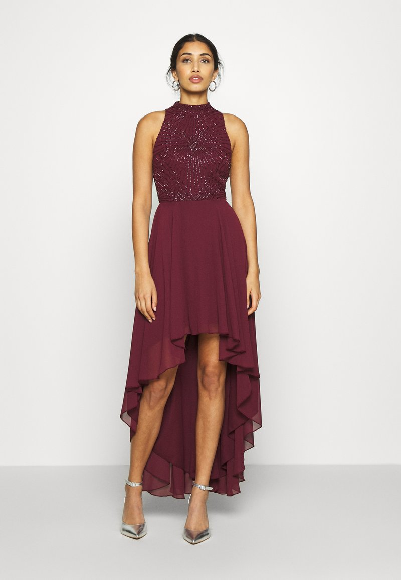 Lace & Beads - AVERY DRESS - Vestido de fiesta - burgundy