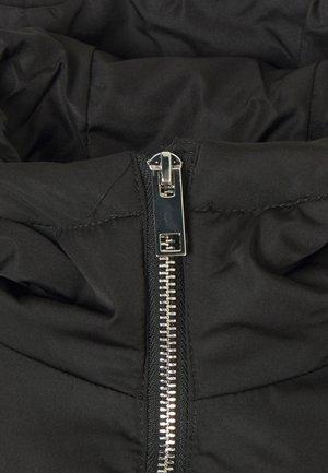 YASPUFFA LONG COAT - Down coat - black