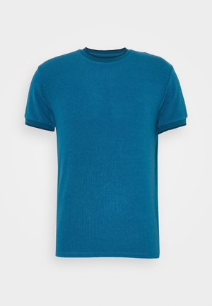 BLOW - Basic T-shirt - blue surf