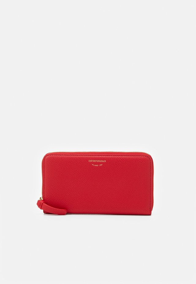 FOGLIO ZIP AROUND - Wallet - red