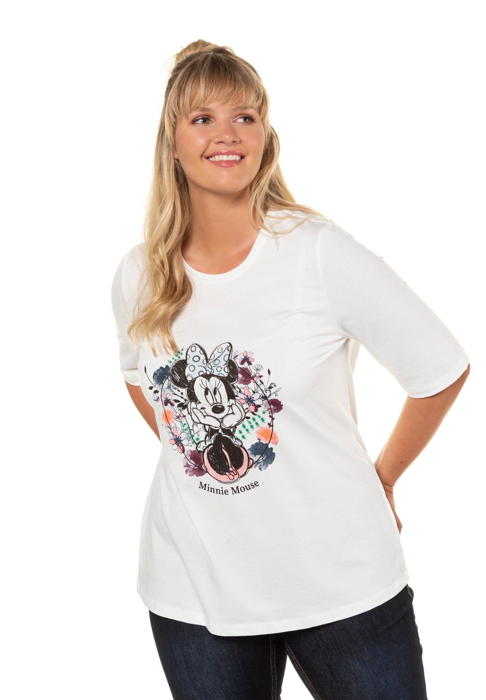 Ulla Popken T-shirt imprimé - off-white - Tops & T-shirts Femme aND8P