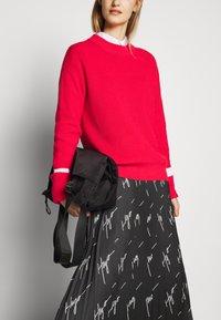 HUGO - RALISSY - Plisovaná sukně - black - 3