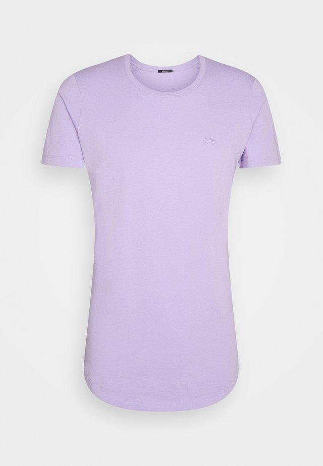 LUIS TEE  - T-shirt - bas - lilac