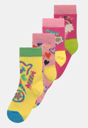 SUGAR RUSH & HAPPY LOVE 4 PACK UNISEX - Socks - multi-coloured