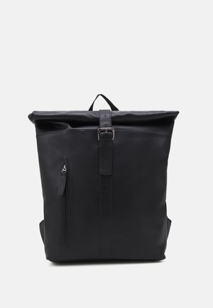LEATHER UNISEX - Batoh - black