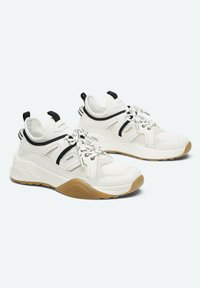 Uterqüe - Sneakers laag - beige - 1
