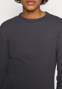 Even&Odd - Long sleeved top - dark grey - 5