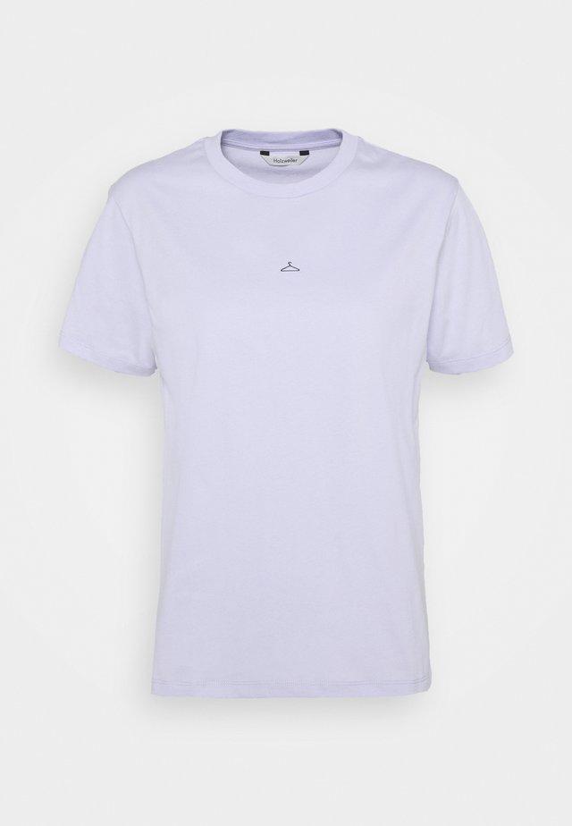 SUZANA TEE - T-shirts med print - lilac