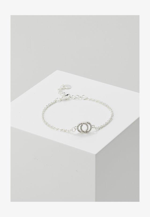 FRANCIS CHAIN BRACE - Rannekoru - silver-coloured/clear