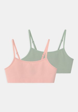 SEAMLESS 2 PACK - Bustier - light dusty pink