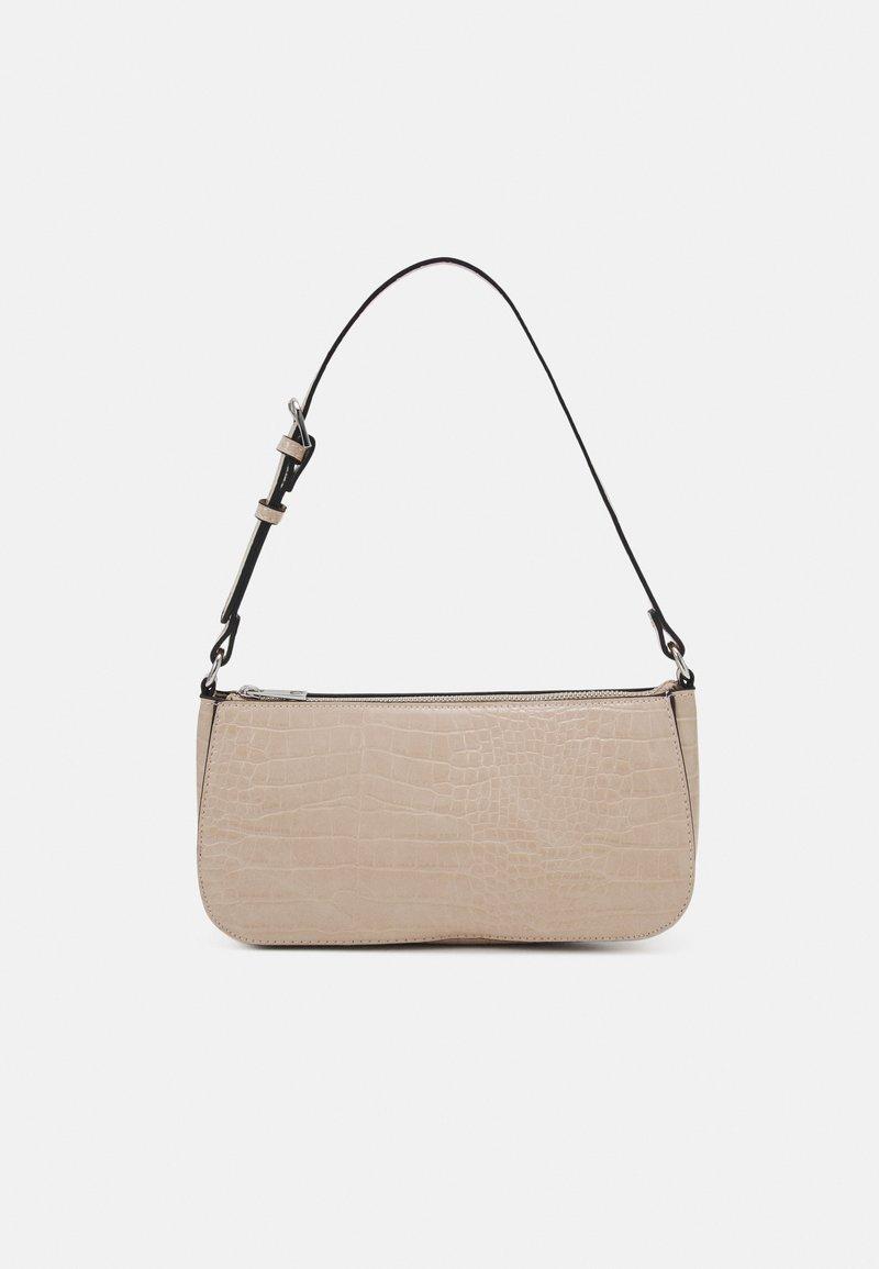 Lindex - BAG ELLA CROCO - Handbag - beige