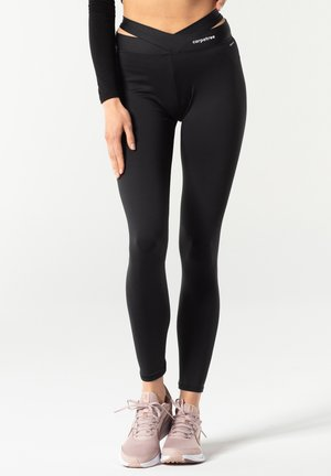 AURORA - Leggings - black