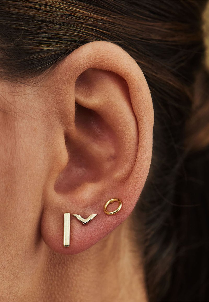 Selected Jewels - Earrings - gold