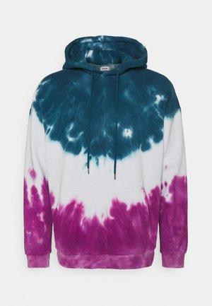 UNISEX - Sweatshirt - teal/white/pink