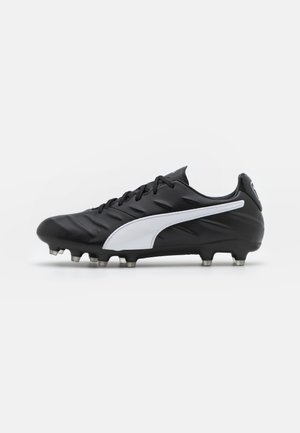 KING PRO 21 FG - Voetbalschoenen met kunststof noppen - black/white