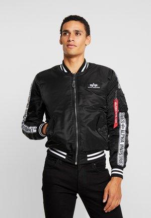 TAPE - Bomber Jacket - black