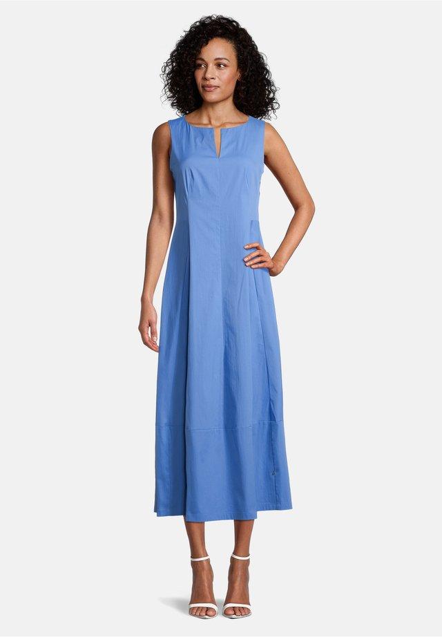 Korte jurk - hyacinth blue