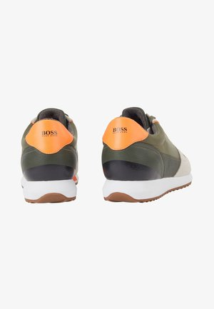 Trainers - open green