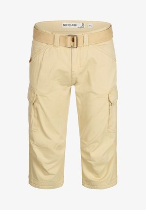 MIT GÜRTEL NICOLAS - Shorts - fog