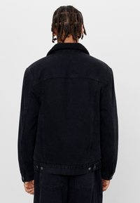 Bershka - Džínová bunda - black - 2