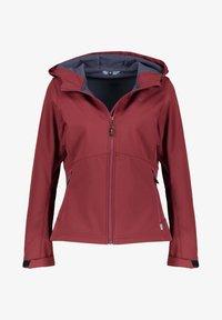 Meru - BREST - Soft shell jacket - vino (514) - 0