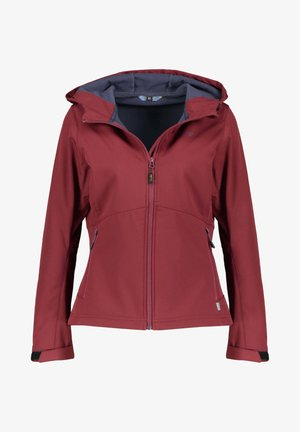 BREST - Soft shell jacket - vino (514)