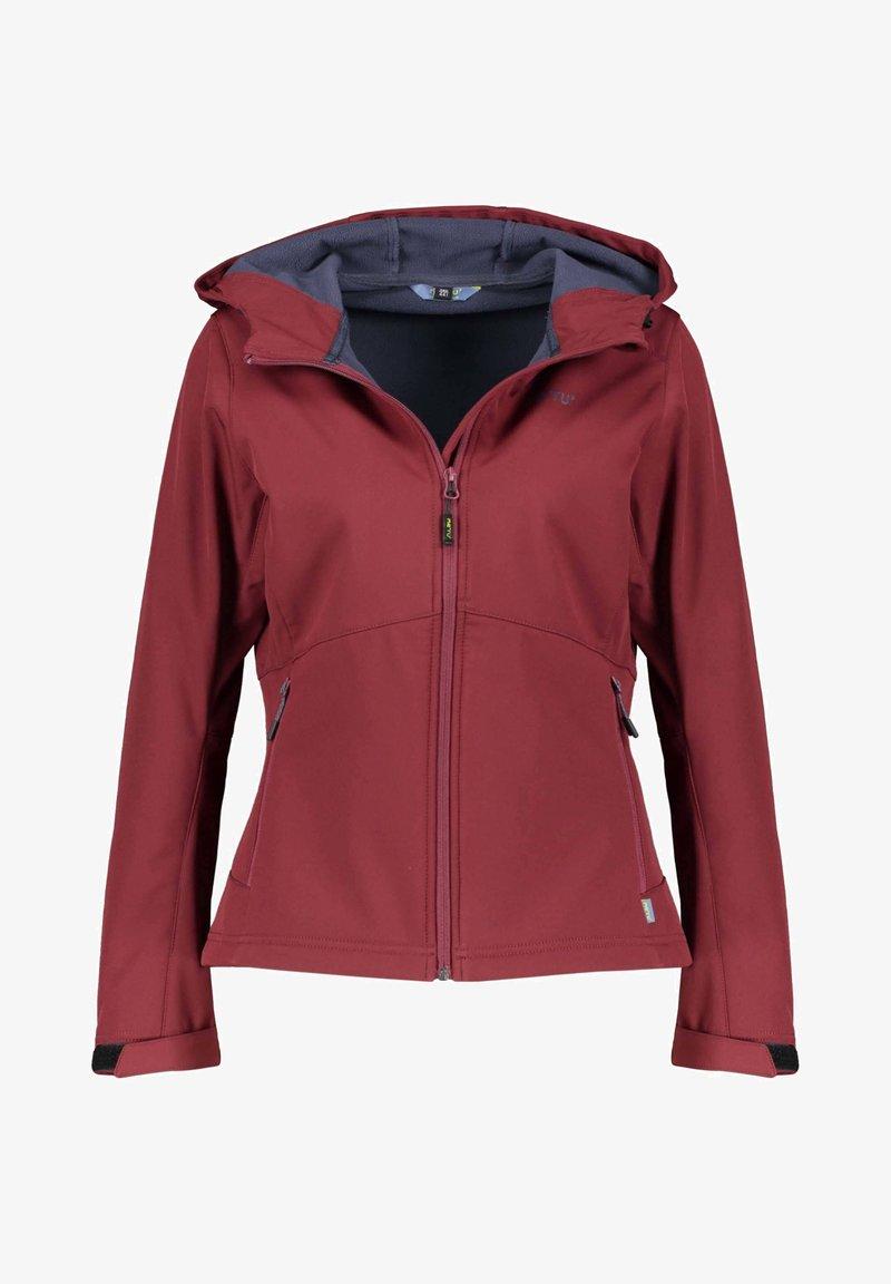 Meru - BREST - Soft shell jacket - vino (514)