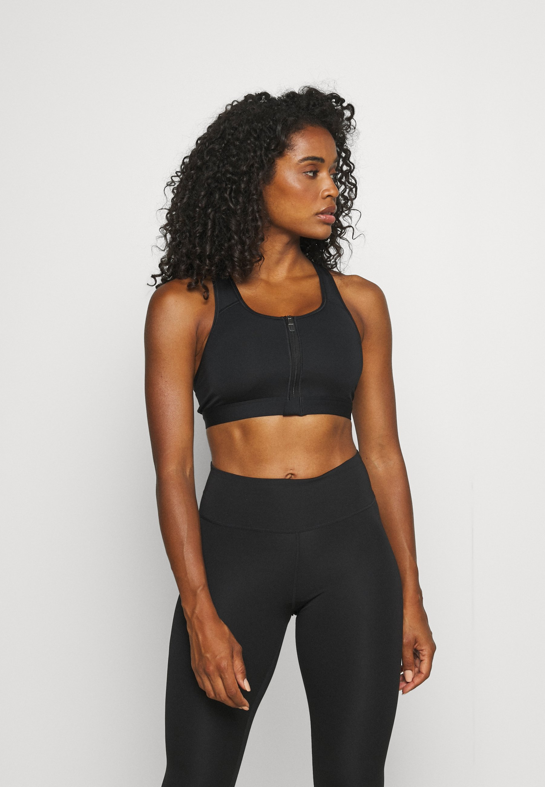 Women ZIP FRONT BRA - Medium support sports bra
