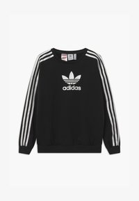 adidas Originals - CREW UNISEX - Bluza - black/white - 0