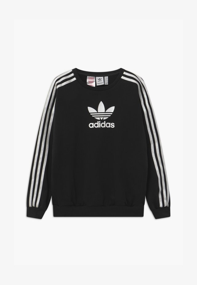 CREW UNISEX - Sweatshirt - black/white
