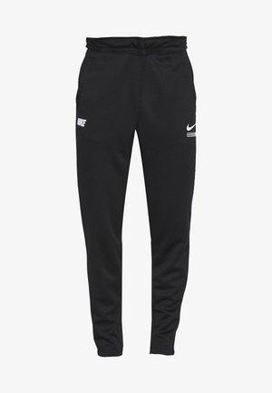 PANT - Teplákové kalhoty - black/light smoke grey/white