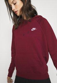 Nike Sportswear - HOODIE - Hoodie - dark beetroot - 4