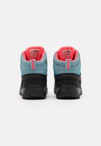 CMP - KIDS RIGEL MID TREKKING SHOE WP UNISEX - Hiking shoes - clorophilla/red fluo - 2
