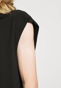 Weekday - SLY TANKTOP - Basic T-shirt - black - 5