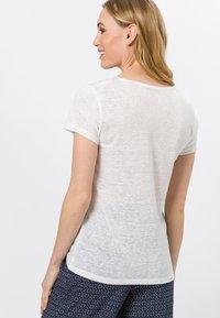 zero - Basic T-shirt - offwhite - 2