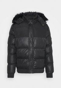 Criminal Damage - POLAR PUFFER JACKET - Zimní bunda - black - 5