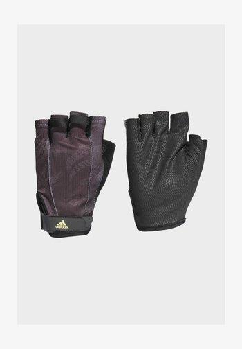 4ATHLS  GR - Kurzfingerhandschuh - black