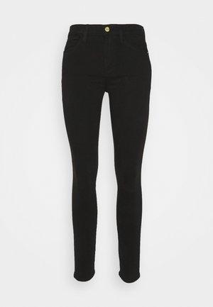 LE HIGH SKINNY - Jeans Skinny Fit - noir