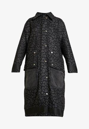 G-ROBERT OVERCOAT - Zimní kabát - black