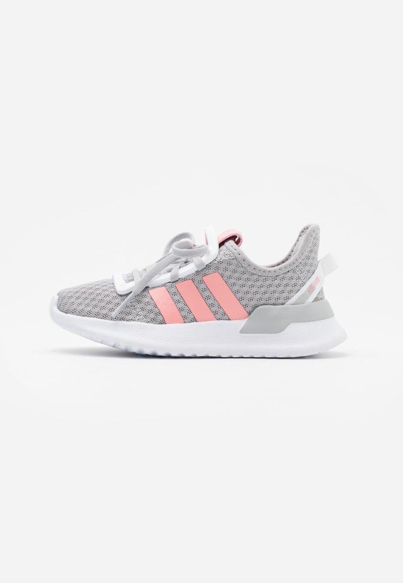 adidas Originals - PATH RUN  - Tenisky - grey two/glow pink/footwear white
