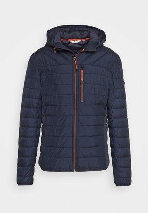 WITH HOOD - Winter jacket - sky captain blue