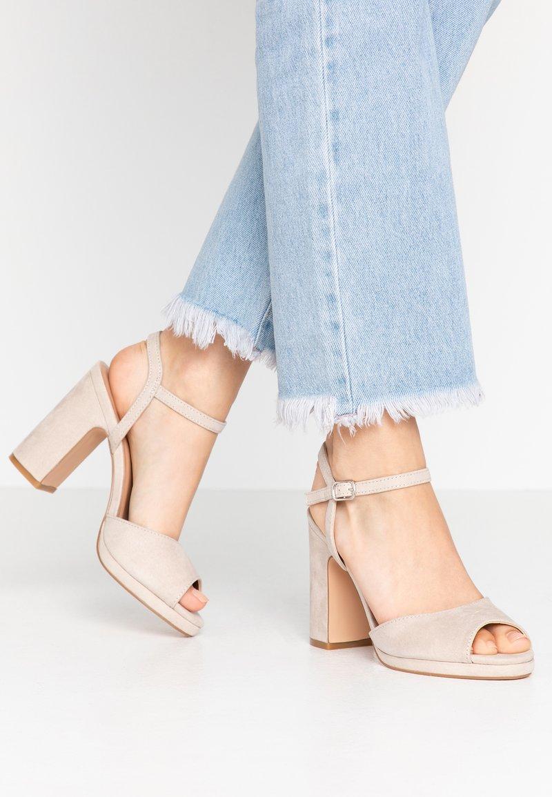 Anna Field - High heeled sandals - taupe