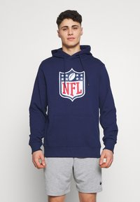 Fanatics - NFL ICONIC PRIMARY COLOUR LOGO GRAPHIC HOODIE - Bluza z kapturem - navy - 0