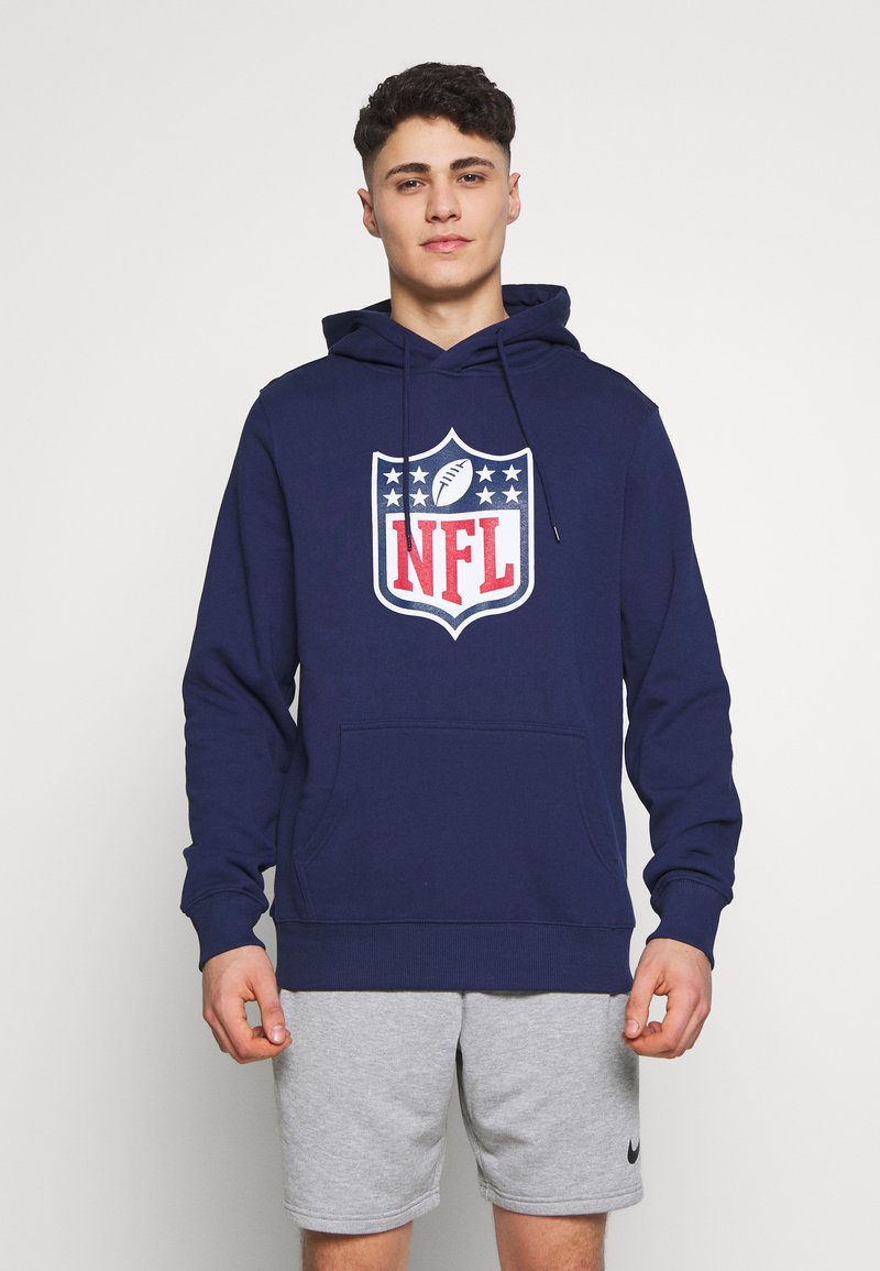 Fanatics - NFL ICONIC PRIMARY COLOUR LOGO GRAPHIC HOODIE - Bluza z kapturem - navy