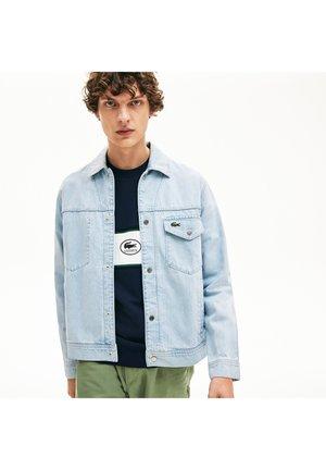 LACOSTE - BLOUSON HOMME-BH5318 - Denim jacket - bleu