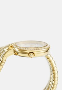 Just Cavalli - DROUBLE WRAP WATCH - Watch - gold-coloured/white - 2