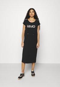 Liu Jo Jeans - ABITO - Jersey dress - nero - 0
