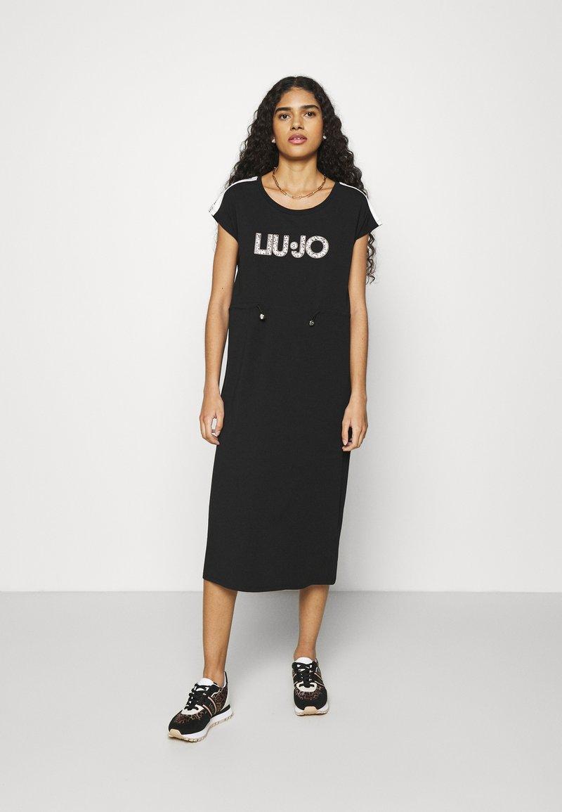 Liu Jo Jeans - ABITO - Jersey dress - nero