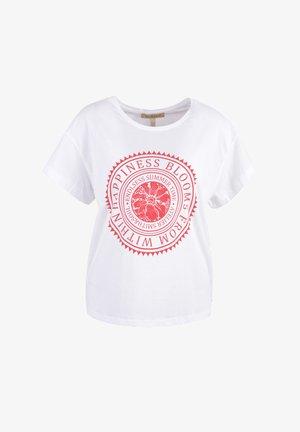 Print T-shirt - vino print